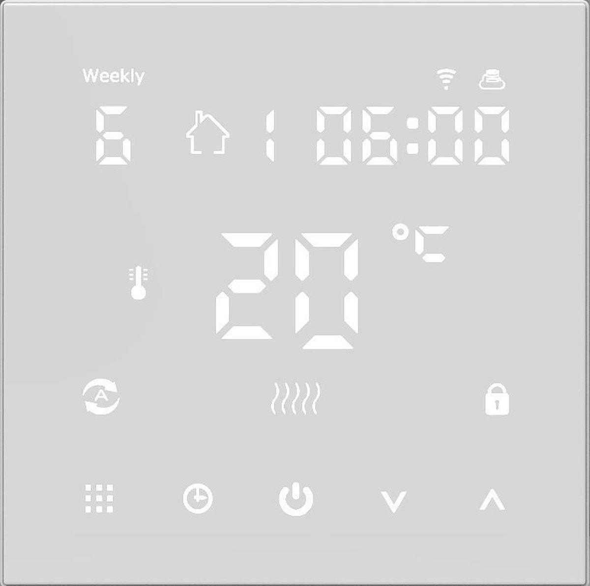Wifi PRF-79 vloerverwarming en infrarood thermostaat Google Home & Amazon Alexa Compatible - Quality Heating