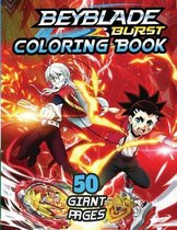 Beyblade Burst Coloring Book