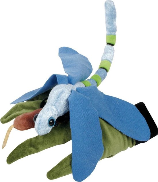 Beleduc Libelle Speelhandschoen - Handpop - Blauw