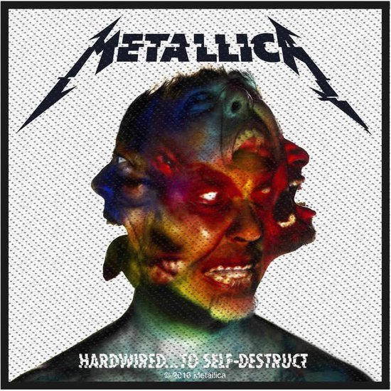 Metallica Patch Hardwired To Self Destruct Multicolours