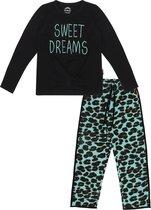 Claesen's pyjama meisje Green Panther