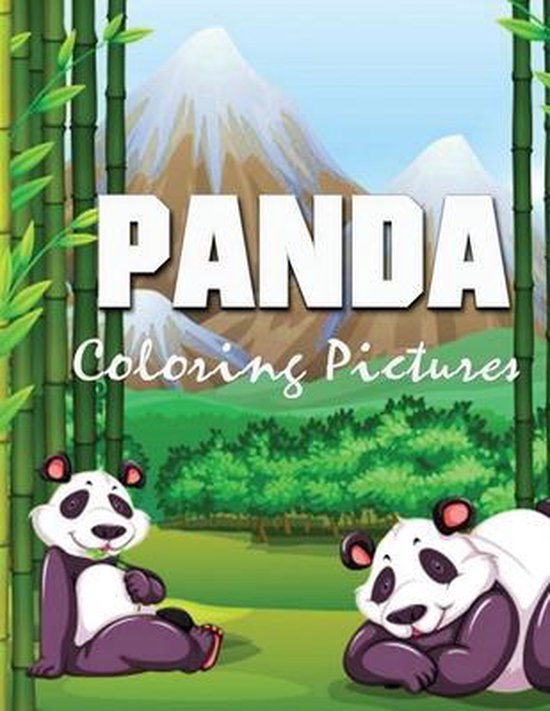 Panda Coloring Pictures