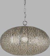 Dutch Lighting Collection Utrecht Hanglamp -E27 - Metaal - Zilver