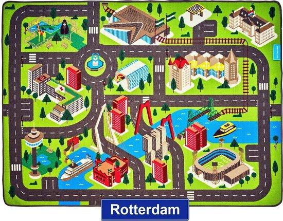 Afbeelding van Jouw Speelkleed Rotterdam - Verkeerskleed - Speeltapijt