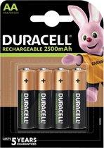 Duracell AA Oplaadbare Batterijen - 2400 mAh - 4 stuks