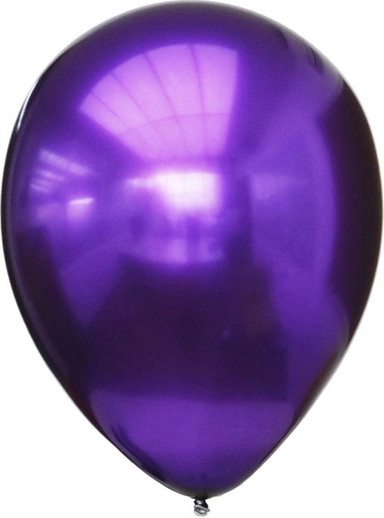 Ballon Titanium paars 28 centimeter, 12 stuks