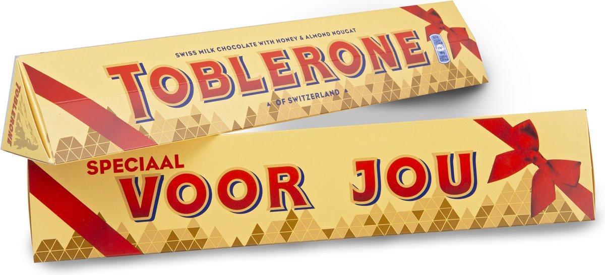 Toblerone Chocolade Cadeau - 'Speciaal voor jou' - 360g