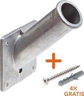 Steico® Vlaggenstokhouder Aluminium 30 mm -  Nu In