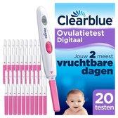 Clearblue Digitaal Ovulatietestset (OVS) met 20 testen