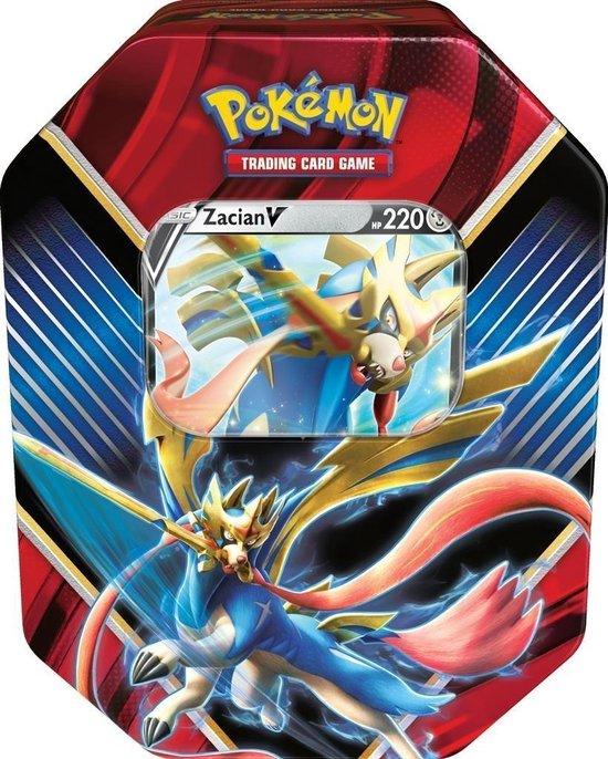 Thumbnail van een extra afbeelding van het spel 1 x Pokémon Verzamelblik Sword & Shield: Tcg Legends Of Galar Tin Zamazenta V - 1 TIN