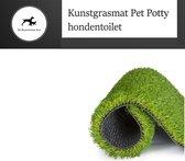 kunstgrasmat - Geschikt voor Pet Potty Hondentoilet - Zindelijkheidstraining - Puppy training pads - 63 cm x 50 cm