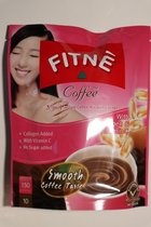 Fitné Coffee 3-in-1 instant coffee mix with collagen