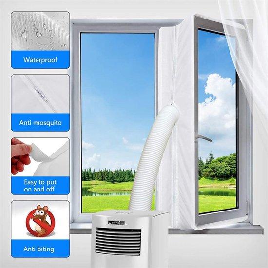Aircloth Raamafdichtingskit 400 cm -mobiele airco-Vensterafdichting voor...