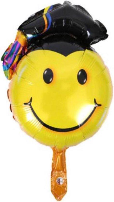 Geslaagd Ballon - Graduated - Ballon - Smiley Ballon -Folieballon - 47 x 28 cm