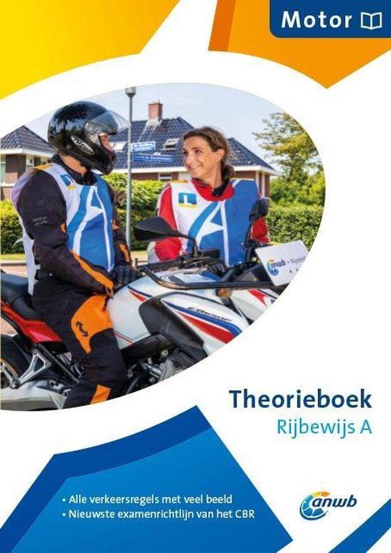 Boek cover Theorieboek Rijbewijs A- Motor van  (Paperback)