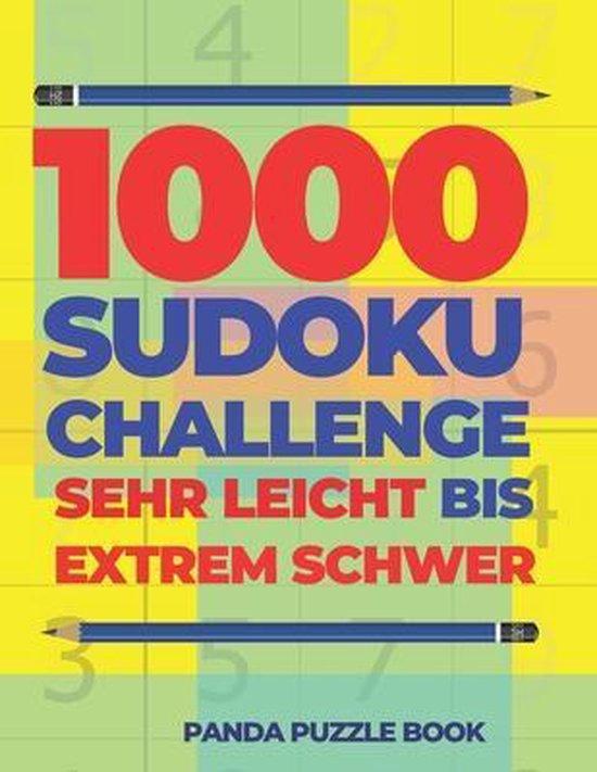 1000 Sudoku Challenge Sehr Leicht Bis Extrem Schwer