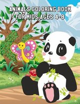 Animals Coloring Book for Kids Ages 4-8: Cute Animals