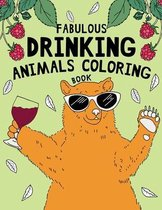 Fabulous Drinking Animals Coloring Book