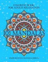 101 Mandalas Coloring Book For Adults Relaxation Stress Relieving Mandala Designs
