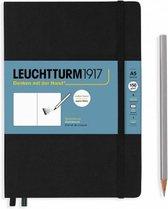 Leuchtturm1917 A5 Medium Schetsboek met harde kaft Black