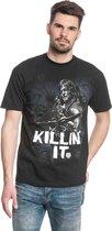 The Walking Dead Heren Tshirt -3XL- Killin it Zwart