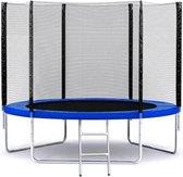 Trampoline met Veiligheidsnet - Blauw - 244 cm