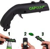 GCap Gun - Bierdop Schieter - Flesopener - Bieropener - Bierfles opener - Zwart