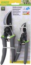 Kinzo Garden snoeischaren - 2 stuks - 21 cm - 16 cm - speciale coating voor grip, comfort en duurzaamheid