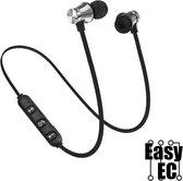 Bluetooth ear Pods Silver - Sport outdoor - draadloze oortjes - oordopjes
