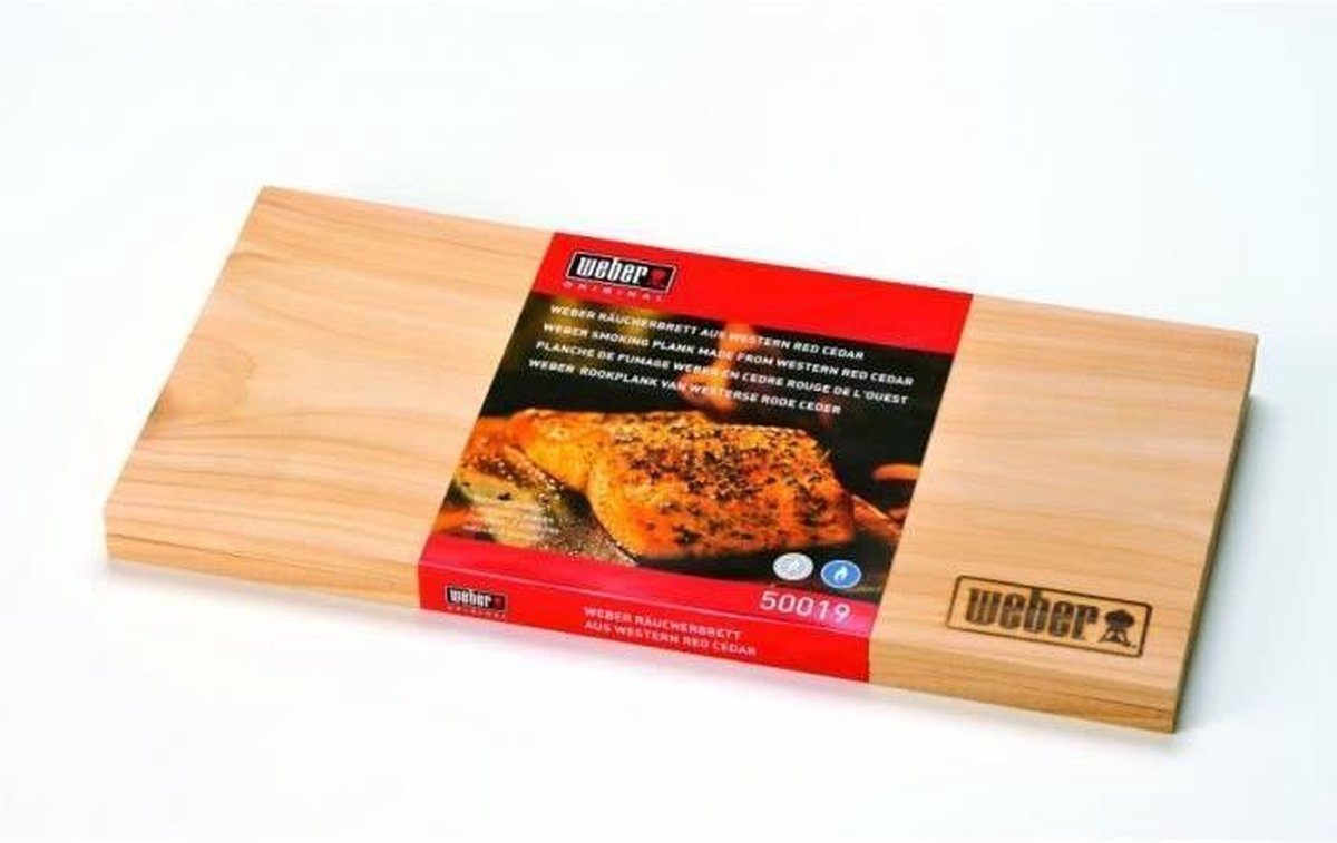 Weber® Barbecues Rookplank Cederhout Klein