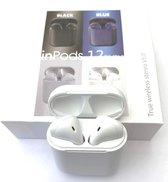 Draadloze Oordopjes met Touch Functie - Kleur: Wit– Bluetooth 5.0  - Alternatief  voor Airpods - 2020 model - Earbuds -  Earpods – Bluetooth Oortjes -  oordopjes -  Sport oortjes - Apple - Iphone – Android – Incl. Nederlandse Handleiding