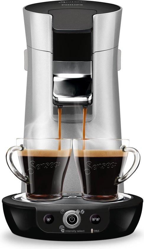 Philips Senseo Viva Café Duo Select HD6566/30 - Koffiepadapparaat - Wit en Roze Koper