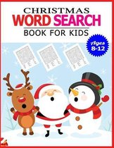 Christmas Word Search Book for Kids Ages 8-12