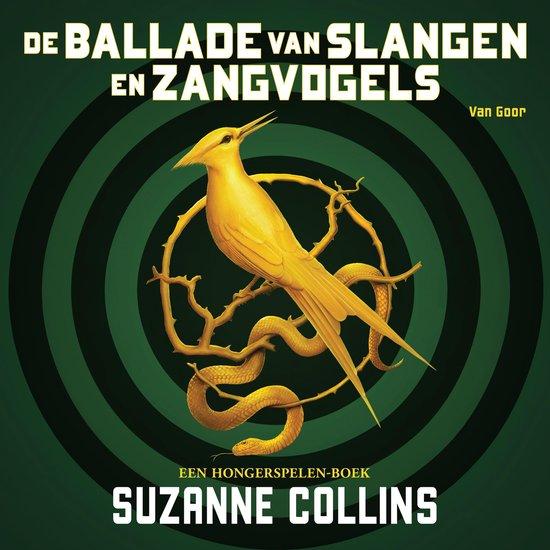 Boek cover De ballade van slangen en zangvogels van Suzanne Collins (Onbekend)