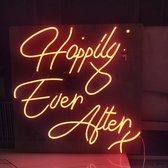 Happily Ever After X Bruiloft Neon LED Light Sign Lamp Verlichting Licht Bord Winkel Display Bedrijfslogo Dim Verstelbaar