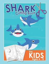 Shark Cutting Book For Kids Ages 4-8