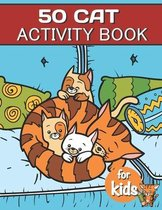 50 Cat Activity Book For Kids