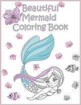 Beautiful Mermaid Coloring Book