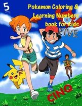 Pokemon Coloring & Learning Numbers book for kids