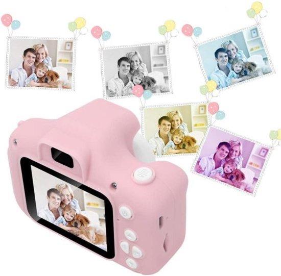 EGGY Kinder Camera roze – Digitale camera – LCD scherm –  Digitaal Fototoestel voor kinderen