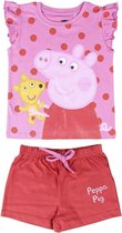 Peppa Pig - Shortama - Pyjama - Roze