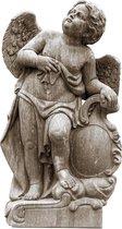 Beton tuin beeld Engel - garden statue angel 130 cm hoog