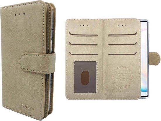 FONU Wallet Case Hoesje Samsung Galaxy J6 (SM-J600) - Taupe