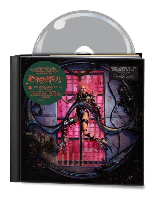CD cover van Chromatica (Deluxe Edition) van Lady Gaga