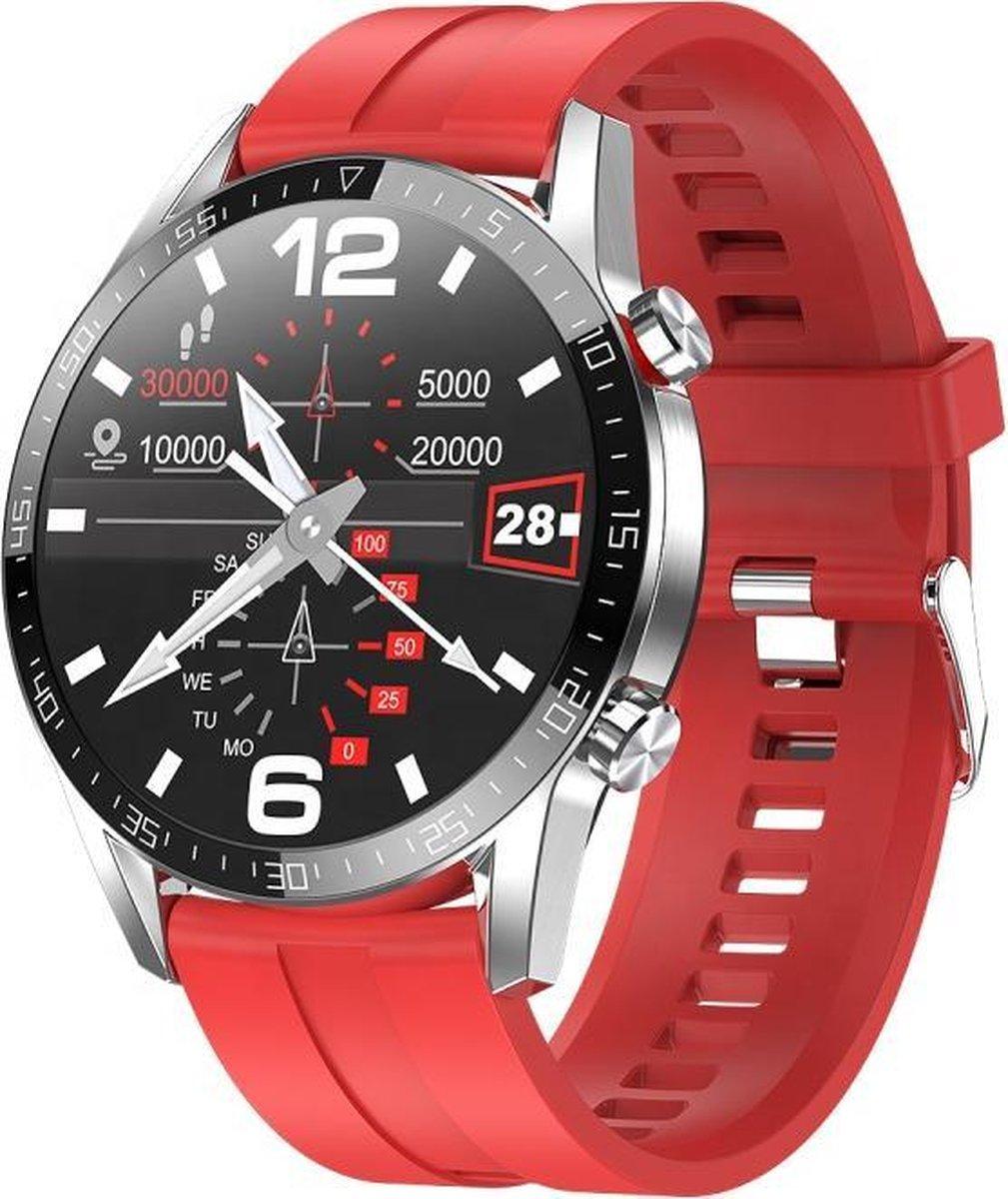 Belesy® Contact - Smartwatch - Rood kopen