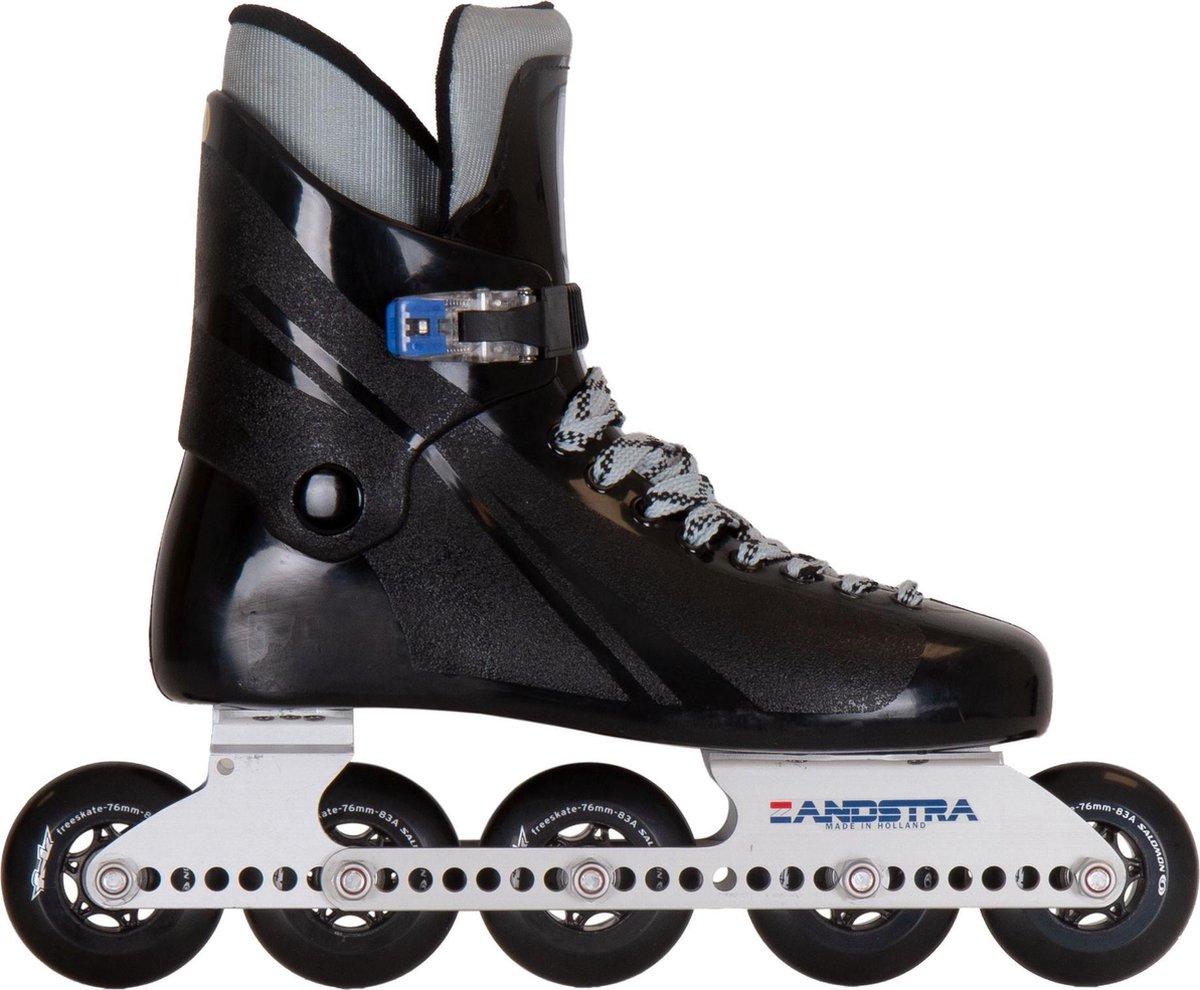 Zandstra Inlineskates - Maat 43 - Unisex - zwart/grijs