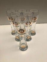 Erdinger Hefe Weiss Weissbier Weizen Bierglas Bokaal doos 6x50cl bierglazen bier glas glazen