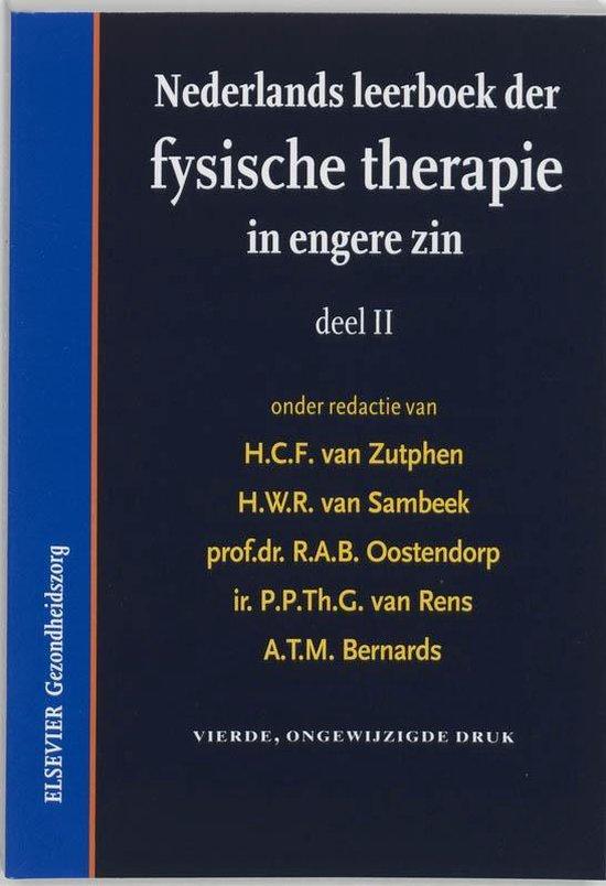 Nederlands leerboek der fysische therapie in engere zin II - H. Zutphen |