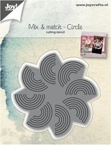 Joy!Crafts snijstencil mix & match cirkel