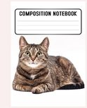 Composition Notebook: This funny cats'notebook
